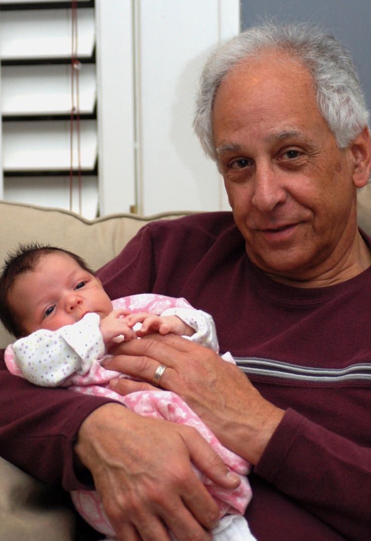 Richard_haddad_and_grandchild_2013