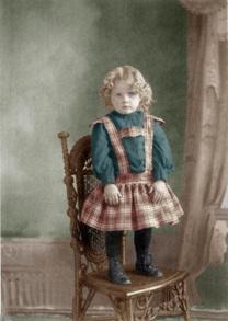 Lin Joyce Grandmother as girl